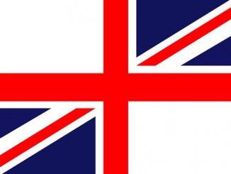 Drapeau créé anglais et britannique