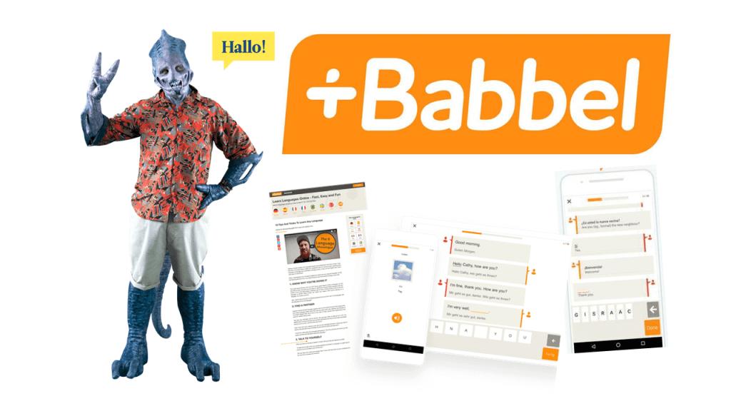 Application Babbel est complète