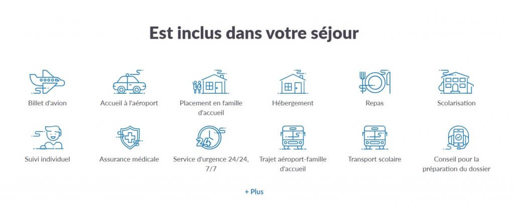 AFS services inclus