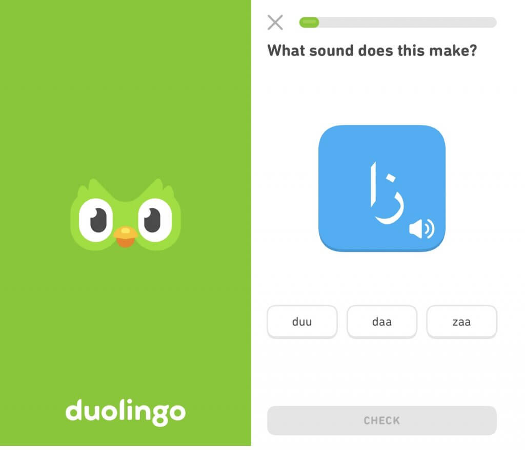 Duolingo application