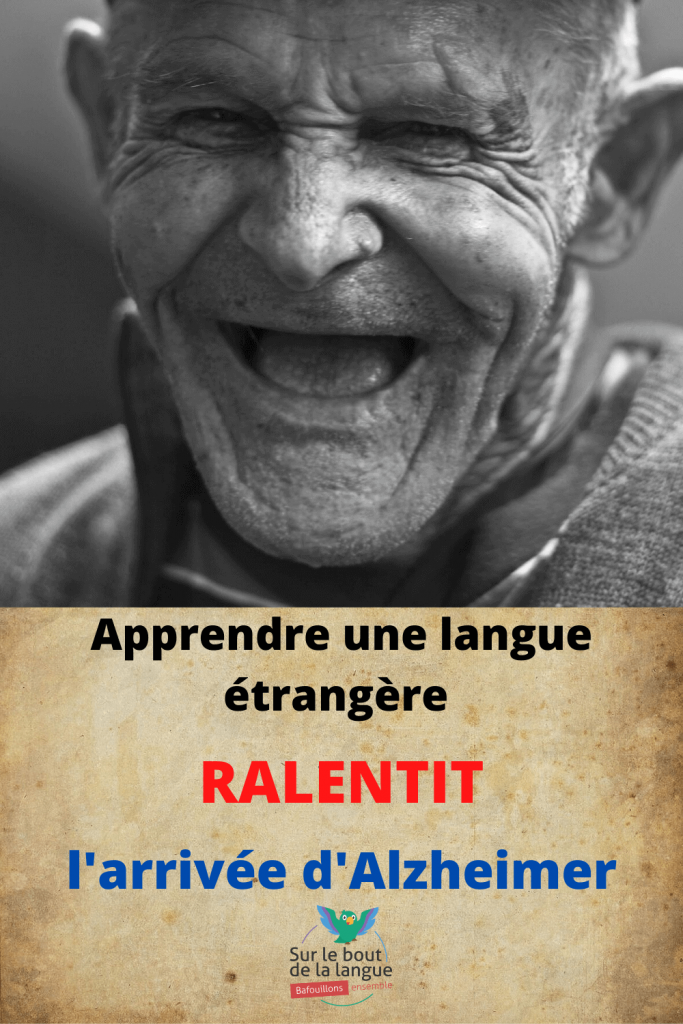 apprendre langue contre Alzheimer