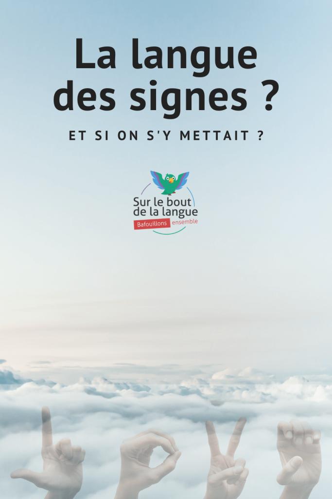 apprendre langues des signes