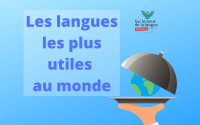 Les langues les plus utiles au monde