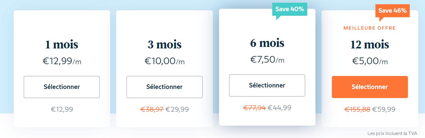 prix babbel abonnement