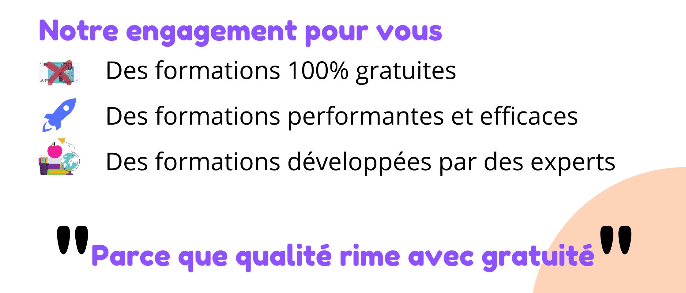 engagement qualité formation langues