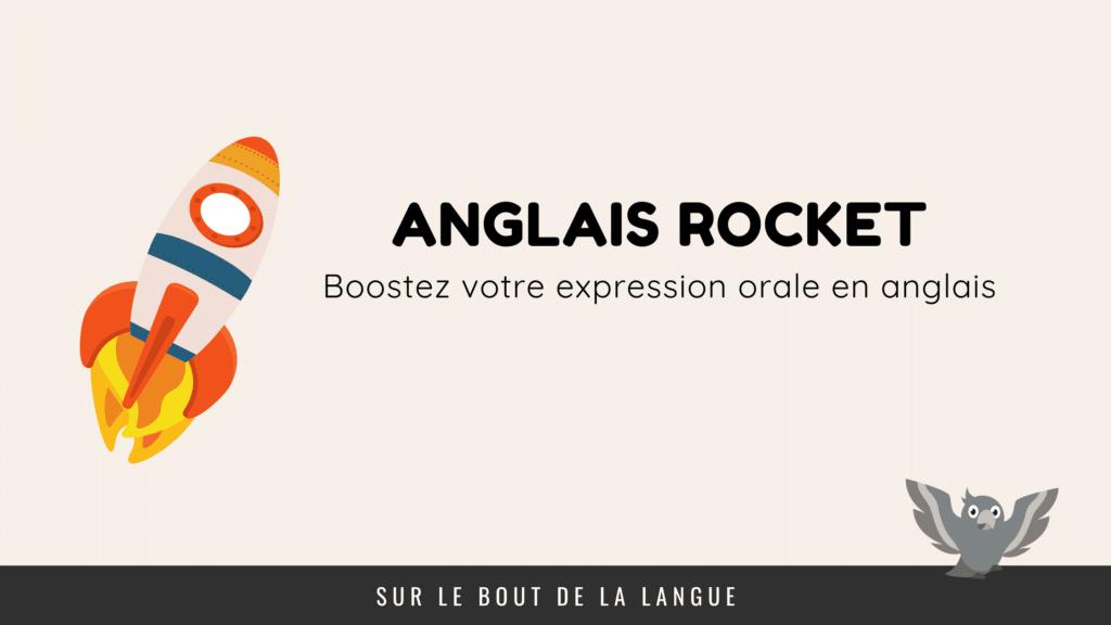 bannière anglais rocket