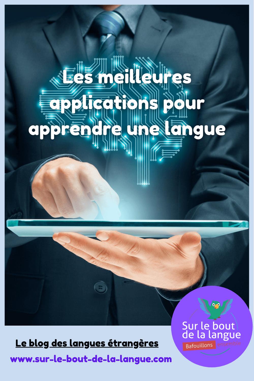 meilleure application langues